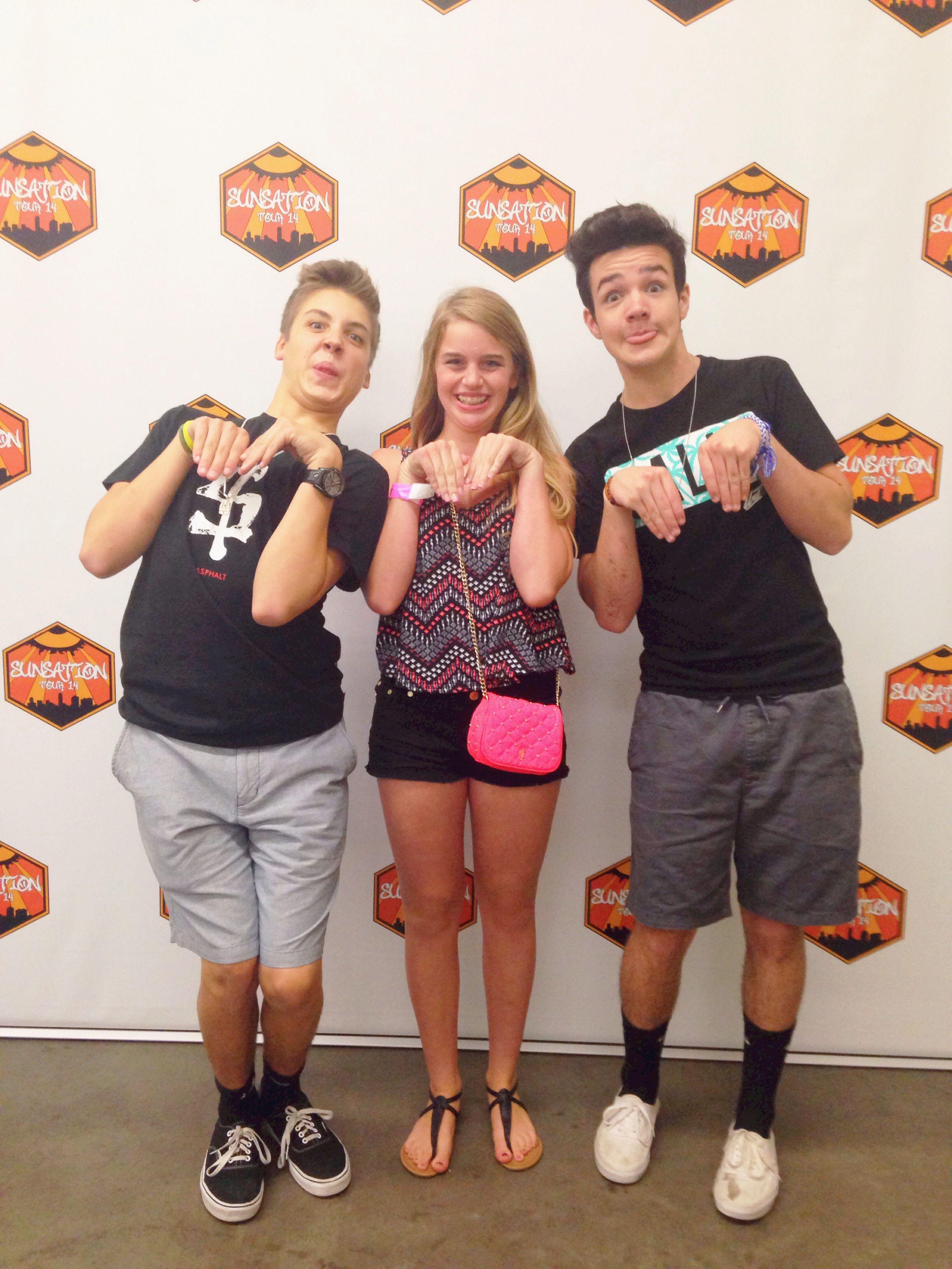 meet and greet ideas magcon tour