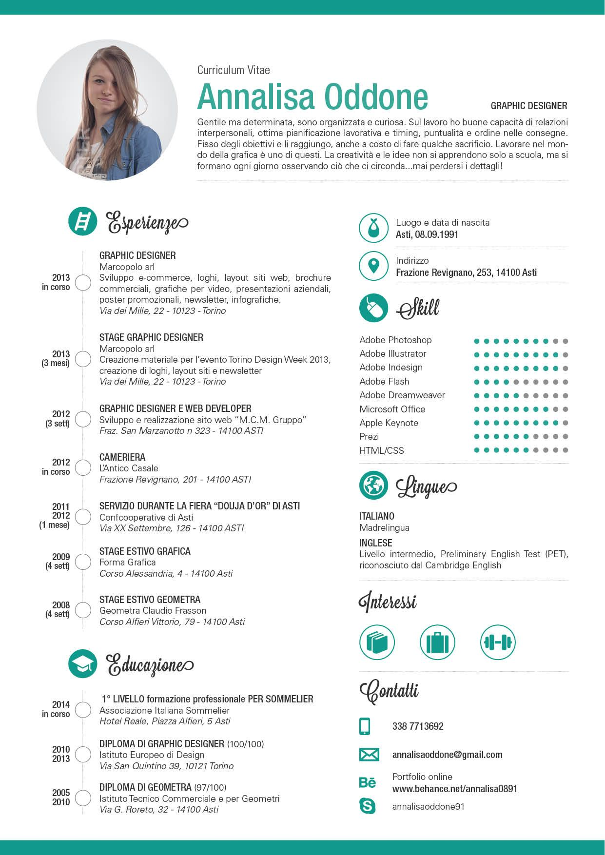 curriculum vitae skills development pinterest design resume