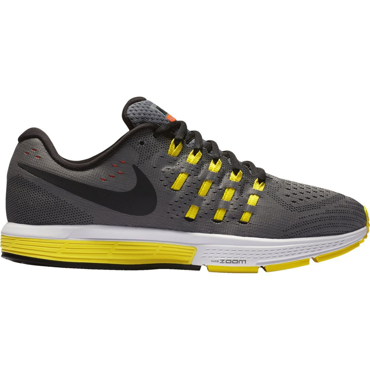 Nike Air Zoom Vomero 11 Running Shoe Cool Grey/Hyper Orange/Opti YelloBlack  10.0