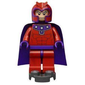 LEGO Marvel Super Heroes Magneto Minifigure 76022 Mini Fig