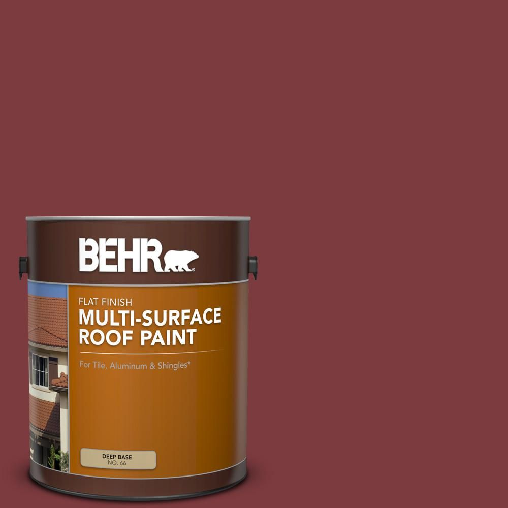Best Behr 1 Gal Pfc 02 Brick Red Flat Multi Surface Exterior 400 x 300