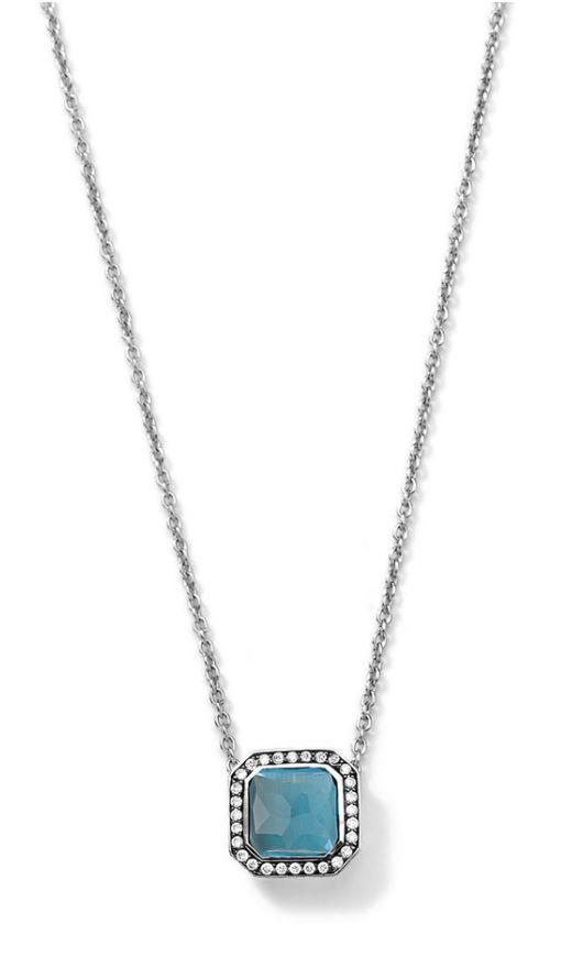 a15a29a873bb72 Ippolita Necklace Sterling Silver Diamond Blue Topaz Stella Chain New  #Ippolita #Pendant#new #nwt #nib #freeshipping #30return #endingsoon  #newlisting ...