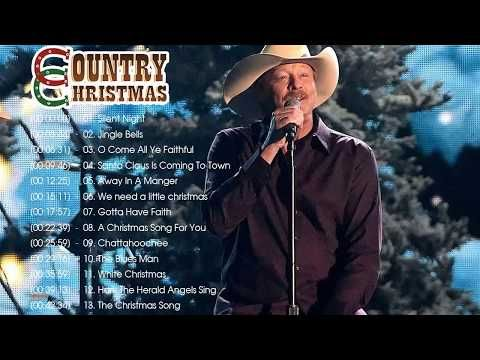 Alan Jackson Christmas Album 2019    Country Christmas Songs 2020 ♥♥ Country Carols Music ...