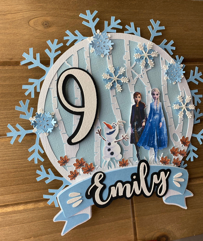 Frozen 2 Cake Topper Frozen Birthday Frozen Party Decorations