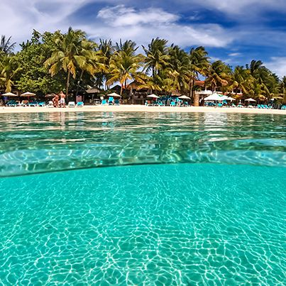 The picture speaks by itself westbaybeach roatan for Roatan dive resort