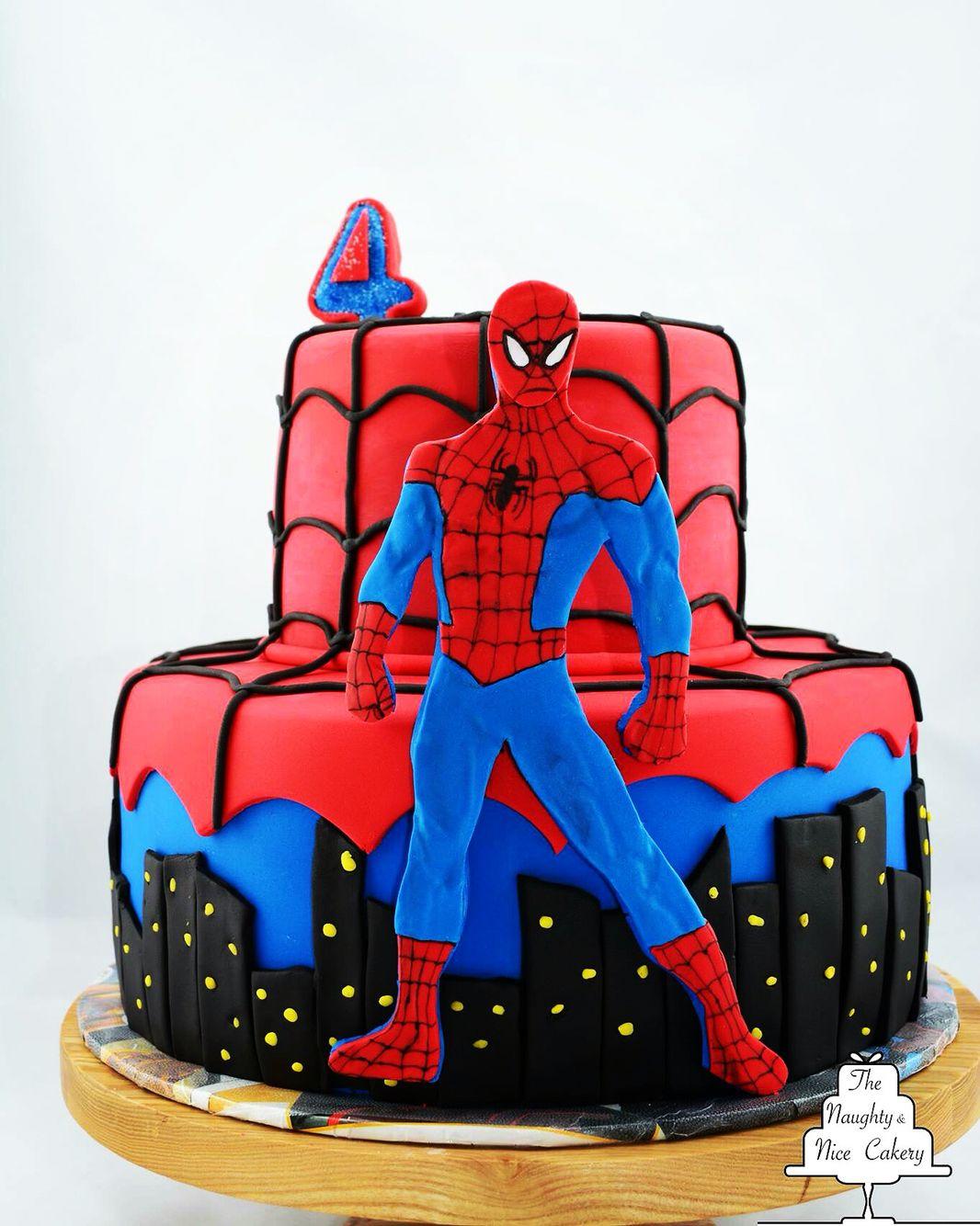 Spider Man Birthday Cake Birthday Cakes For Men Man Birthday Cake