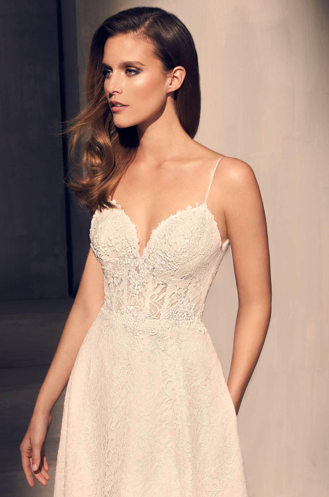 Sequin Corset Wedding Dress Style 2201 Bodice wedding