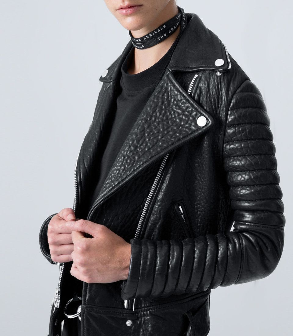Rainier The Arrivals Leather Moto Jacket Fashion Outerwear [ 1100 x 960 Pixel ]