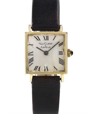 Van Cleef & Arpels Pre-Loved 14K Yellow Gold Ladies Watch