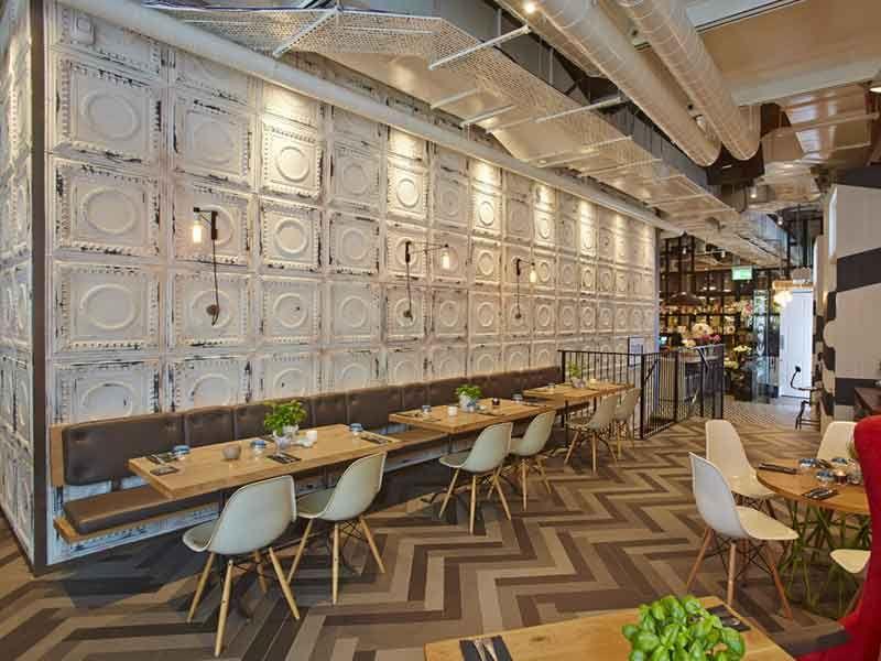 Distressed Tin Ceiling Tiles Google Search Restaurantes