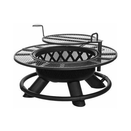 Photo of SRFP96 Ranch Fire Pit With Grill, 47-In. – Quantity 1 – Walmart.com