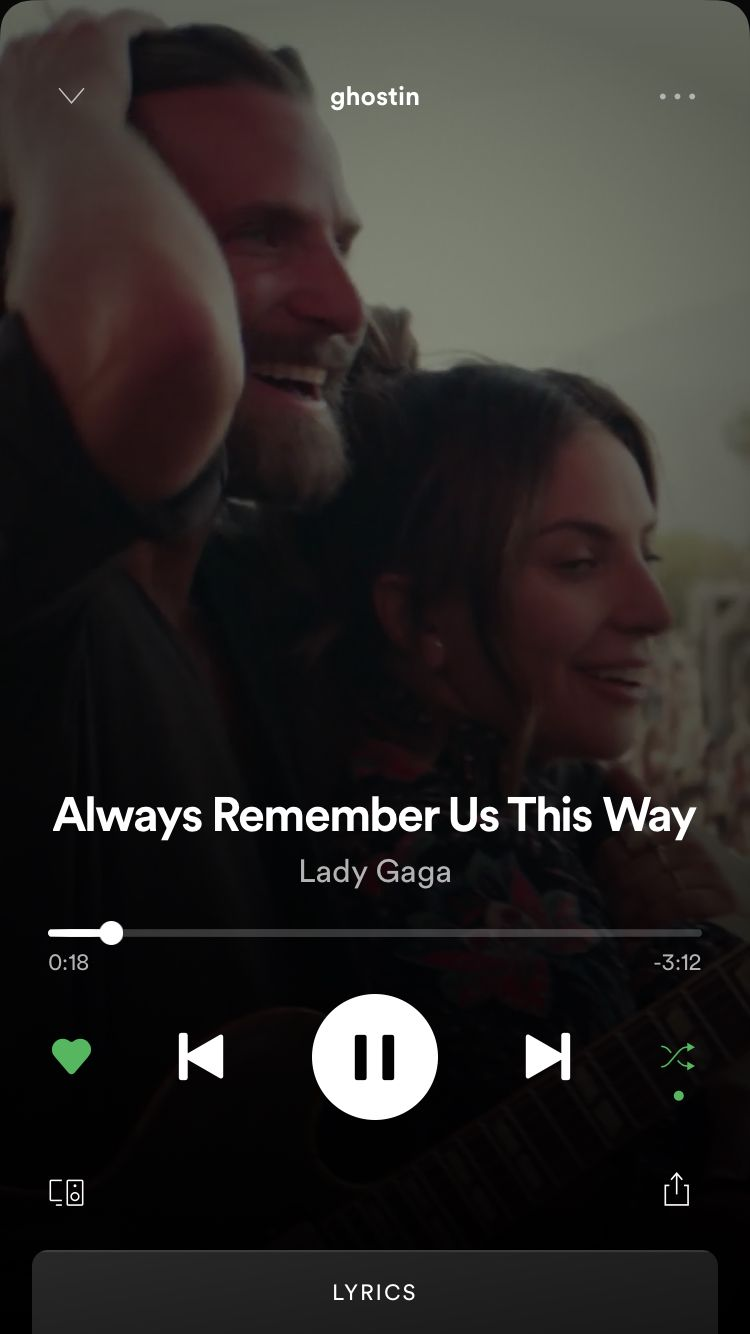 Pin By Izi Witt On Playlist A Star Is Born Always Remember Lyrics