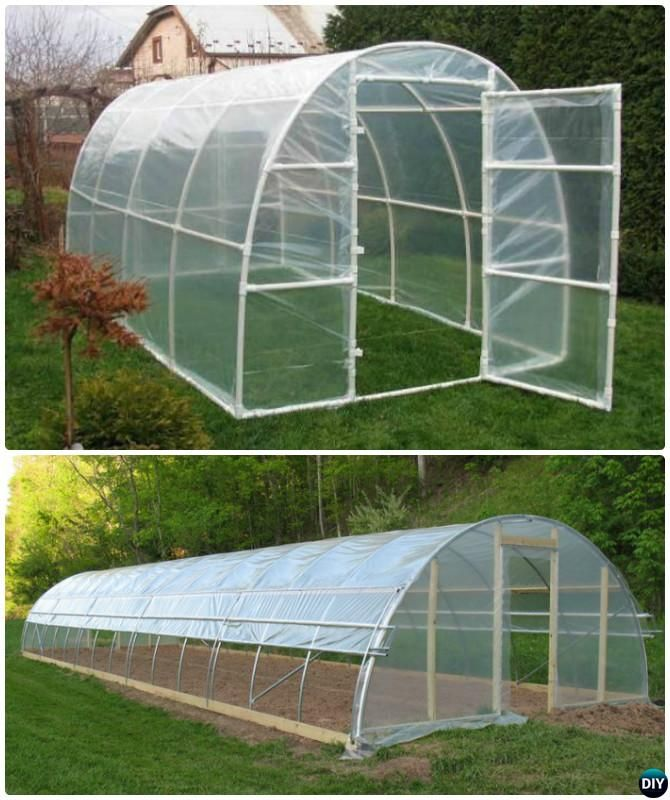 diy pvc pipe greenhouse 18 diy green house projects