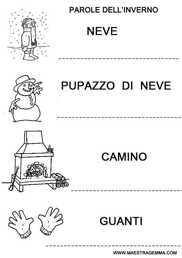 Pregrafismo Maestra Gemma Languages School Winter Education