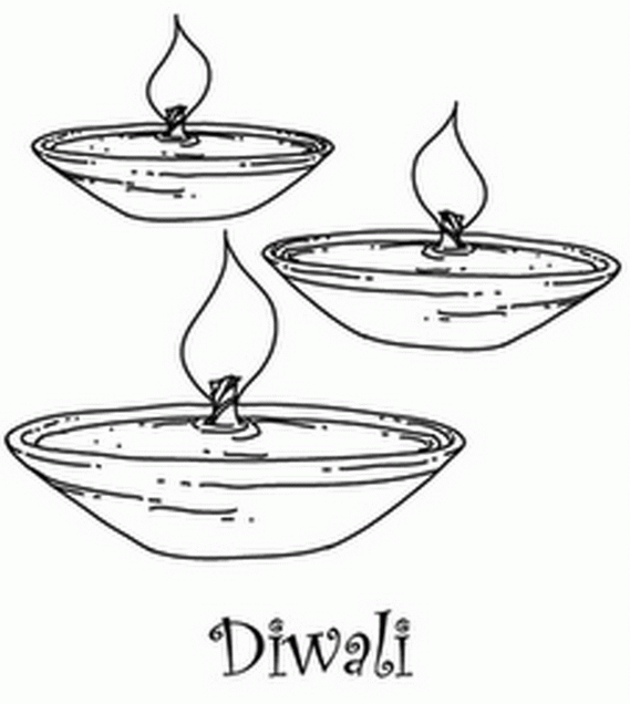 Diwali Colouring Pages | Easy crafts, Diwali, Diwali colours