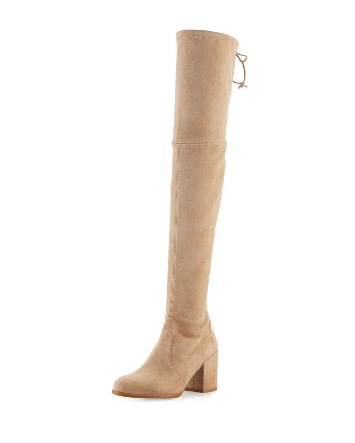 1f837b6fcea8 Tieland Suede Over-the-Knee Boot