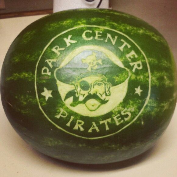 Graduation watermelon carving by Kira Smith | Kira\'s Creations ...