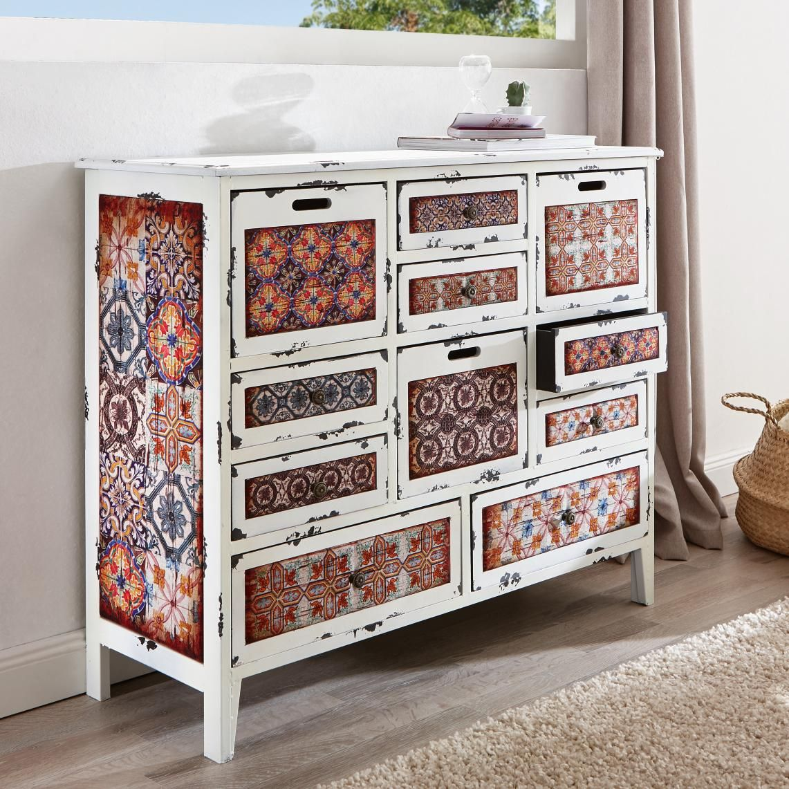 Kommode in Recyclingholz von AMBIA HOME | Extraordinary Style ...