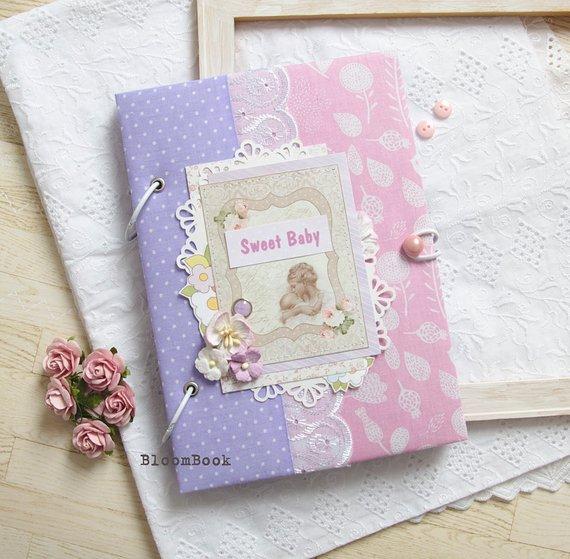 Baby Book Girl Baby Memory Book Baby Girl Photo Album Newborn