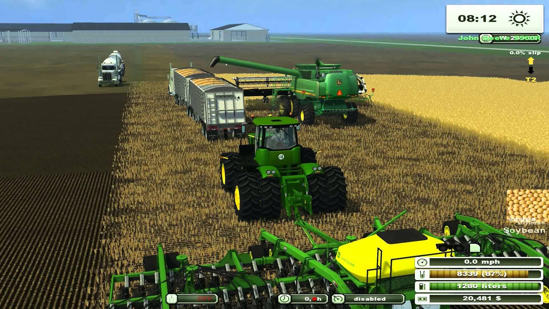 Farmmachinery Farmingsimulator Bigtractors Greentractors
