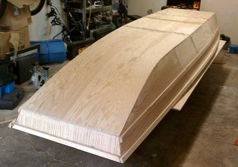 Jon boat White | wood flat boat plans | Pinterest | Boat ...