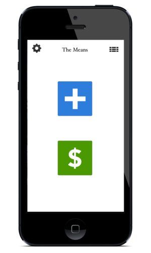The Means easy budget app coming soon to iphone