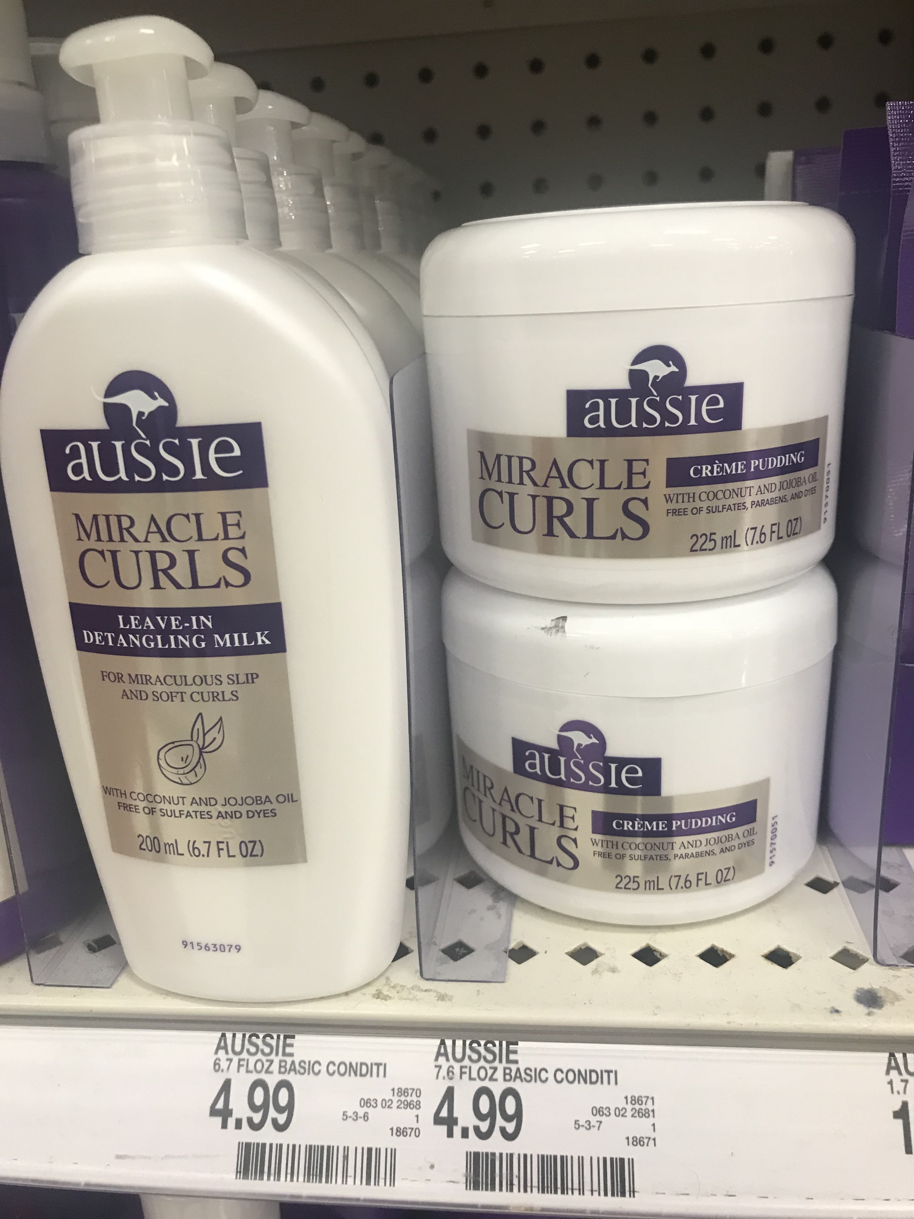 2 more products from the Aussie Miracle Curls collection