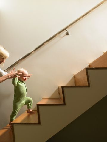 When Should My Child Be Able To Go Up and Down Stairs? - Pinned by @PediaStaff – Please Visit ht.ly/63sNtfor all our pediatric therapy pins