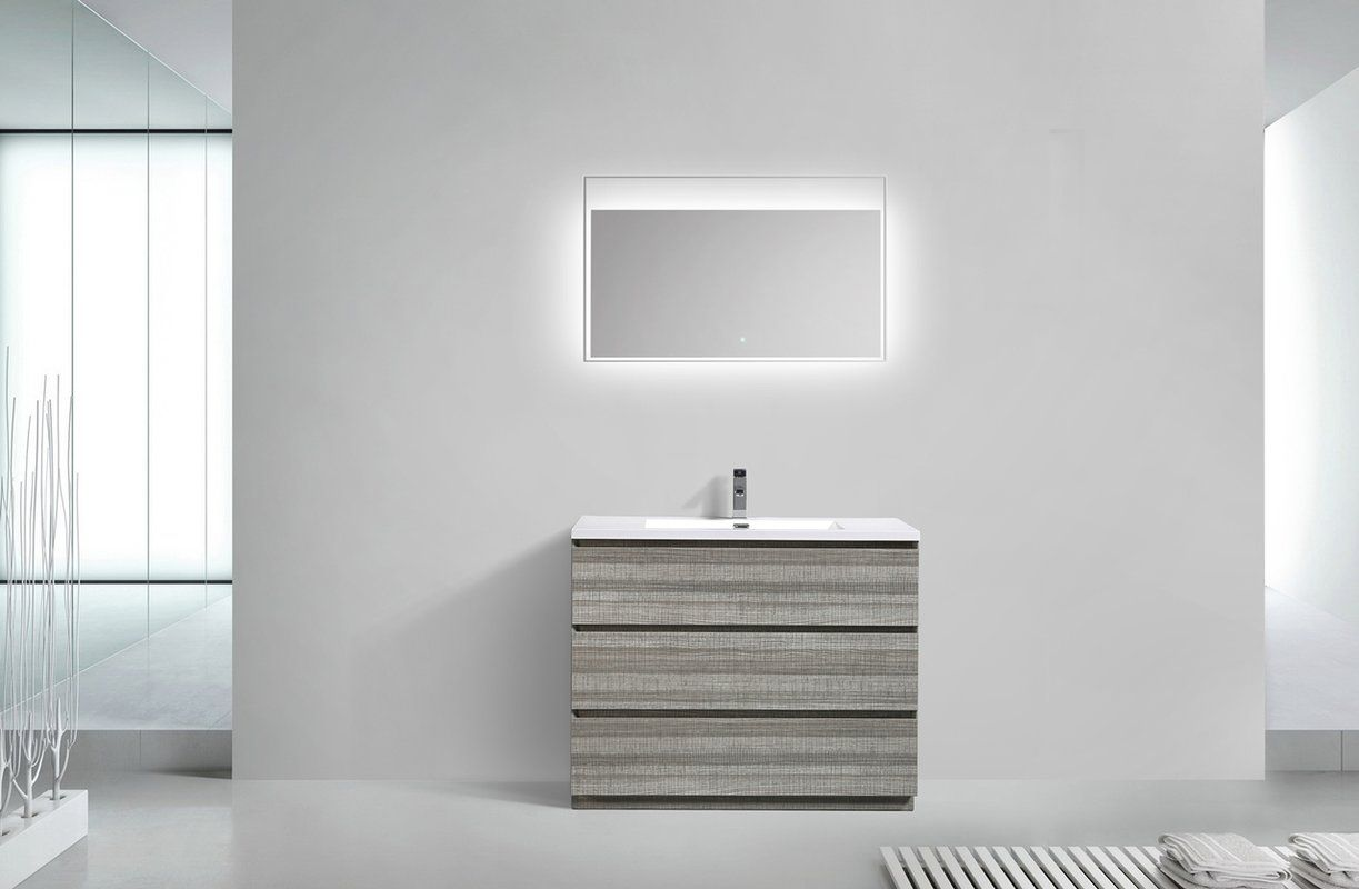 "Zipcode Design Barrington 8"" Single Bathroom Vanity & Reviews"