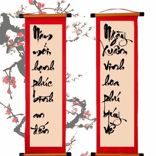 Viết câu đối thư pháp chúc tết, chúc phúc lộc thọ   Chúc mừng năm mới, Hình ảnh, Nghệ thuật chữ viết