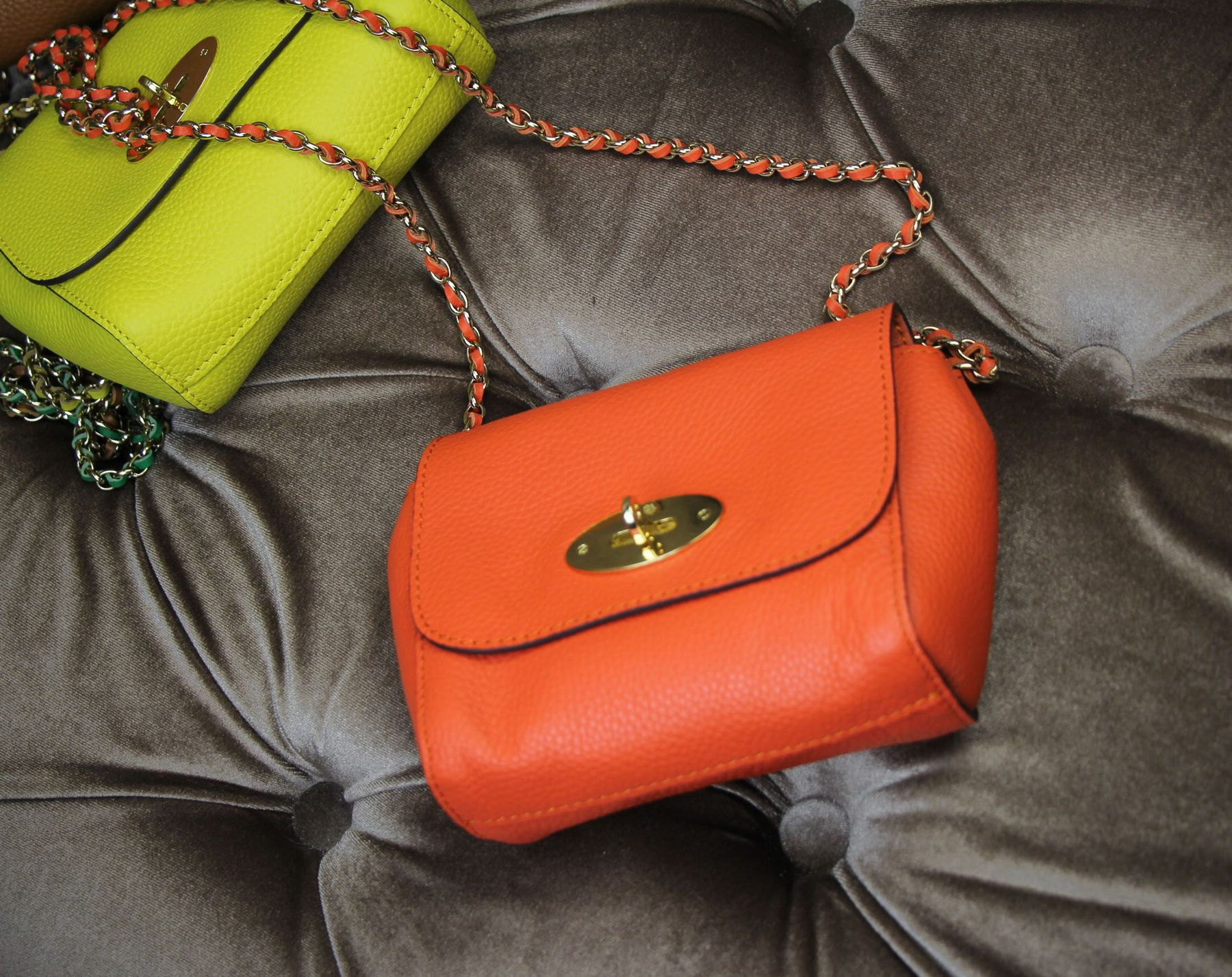 Mulberry Spring Summer 2015 Catwalk Collection Outlet UK-Mini Lily Mandarin  Small Classic Grain 91a094834a4b2
