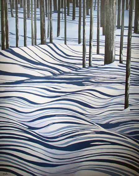 Tina Palmer Snow Drift Patterns In Nature Cool Art Winter Art
