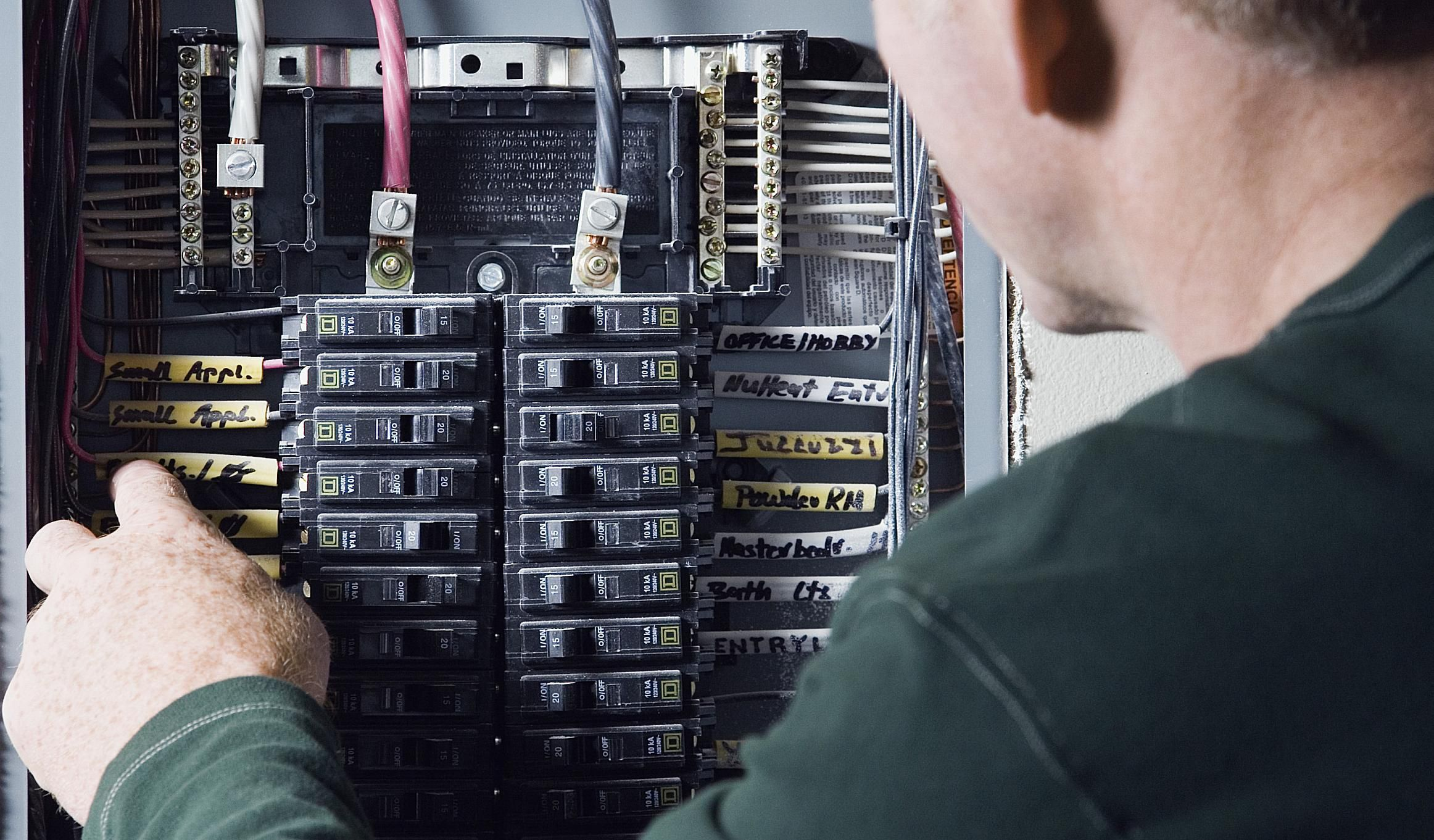 Electrical Service Panel Box Basics for Homeowners in 2019 ... on