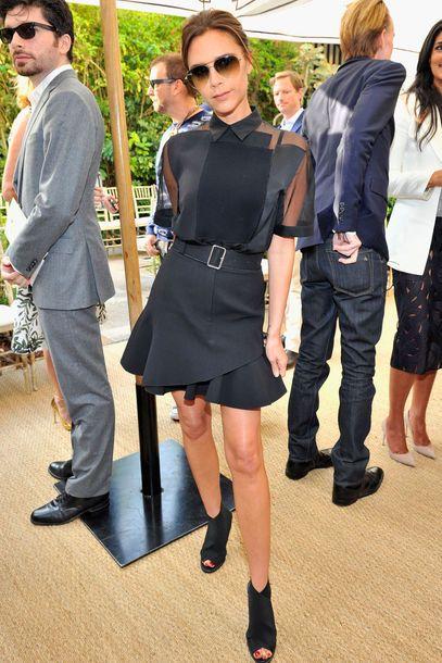 Victoria Beckham Outfits Vogue Style Celebrity Dresses