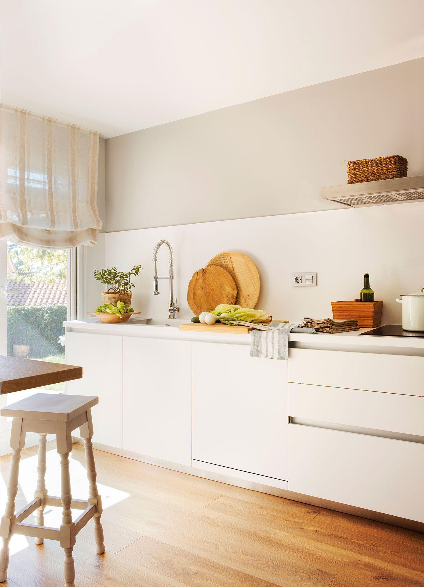 Cocinas blancas: nunca pasan de moda