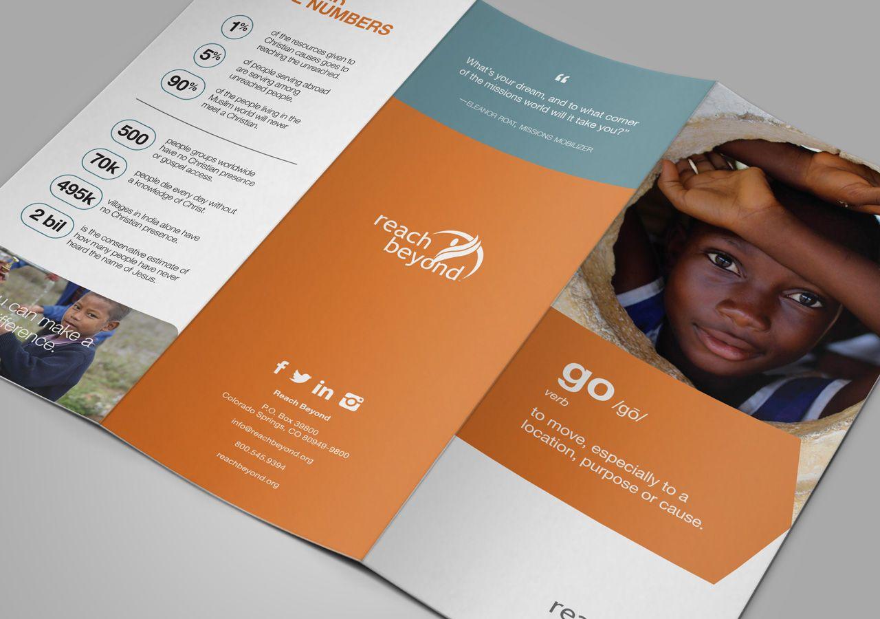 reach beyond recruitment brochure nonprofit marketing materials