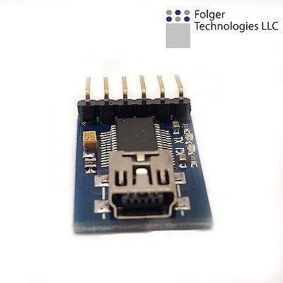 FTDI FT232RL USB to TTL Serials Converter Adapter Module Mini Port 3.3V 5.5V