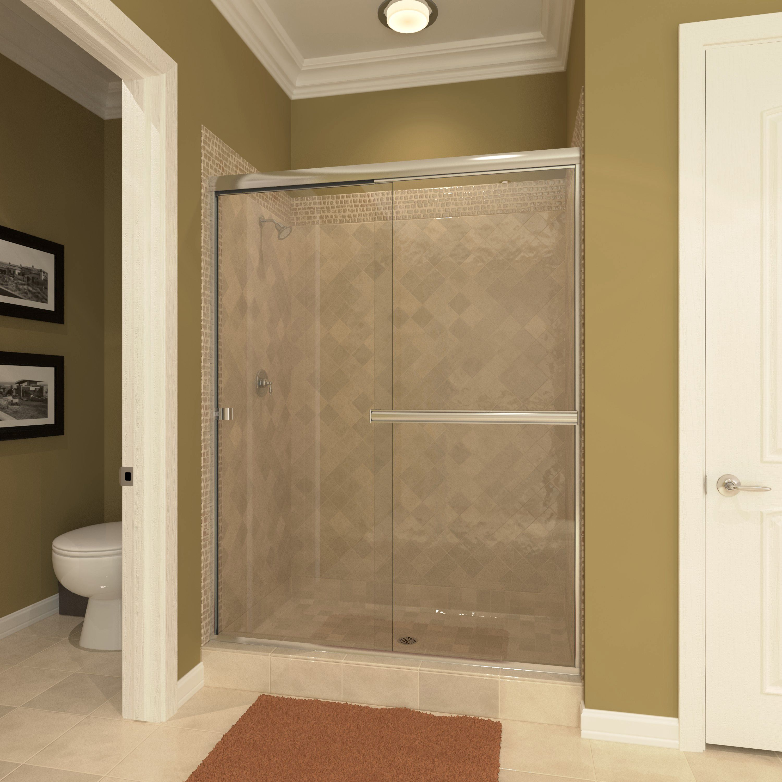 The Traditional Series shower enclosure is a precision engineered good quality frameless enclosure at an affordable price. The extrusions are bright dipped ... & The Light Euro Tub and Shower enclosures offer a European designer ...