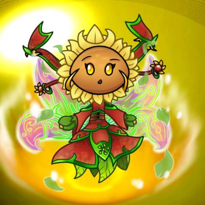 Pvz Sunflower Fan Art By Https Www Deviantart Com Goodpea2 On Deviantart Plant Zombie Plants Vs Zombies Fan Art