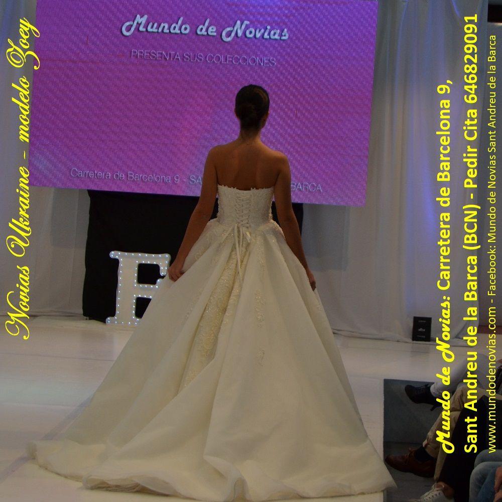 "Atelier ""Mundo de Novias"" – Modelo Zoey – Este super Vestido de ..."