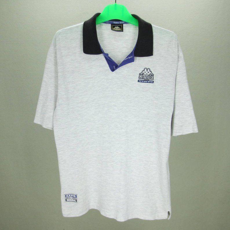 9bbfdb2b93062 Kappa Vintage T Shirt Men Size M 90s Kappa Jersey Vintage Sports ...