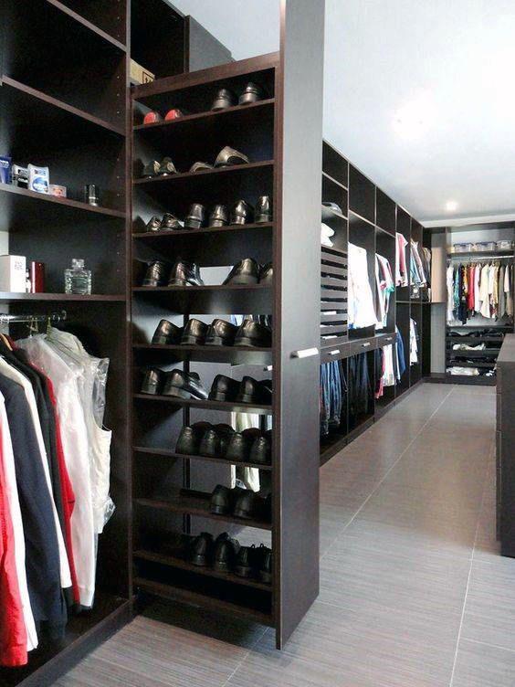 Top 100 besten Kleiderschrank Designs für Männer – Maskulin Walk-In Kleiderschrank Ideen #shoecloset