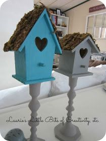 Laurie's Little Bits of Creativity, etc.: Easy Spring Craft Project