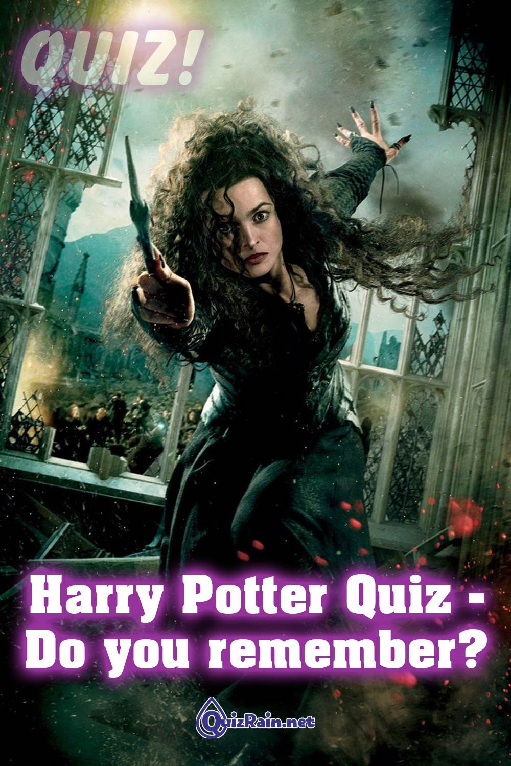 Harry Potter Quiz Do You Remember In 2020 Bellatrix Lestrange Harry Potter Movies Harry Potter Deathly Hallows