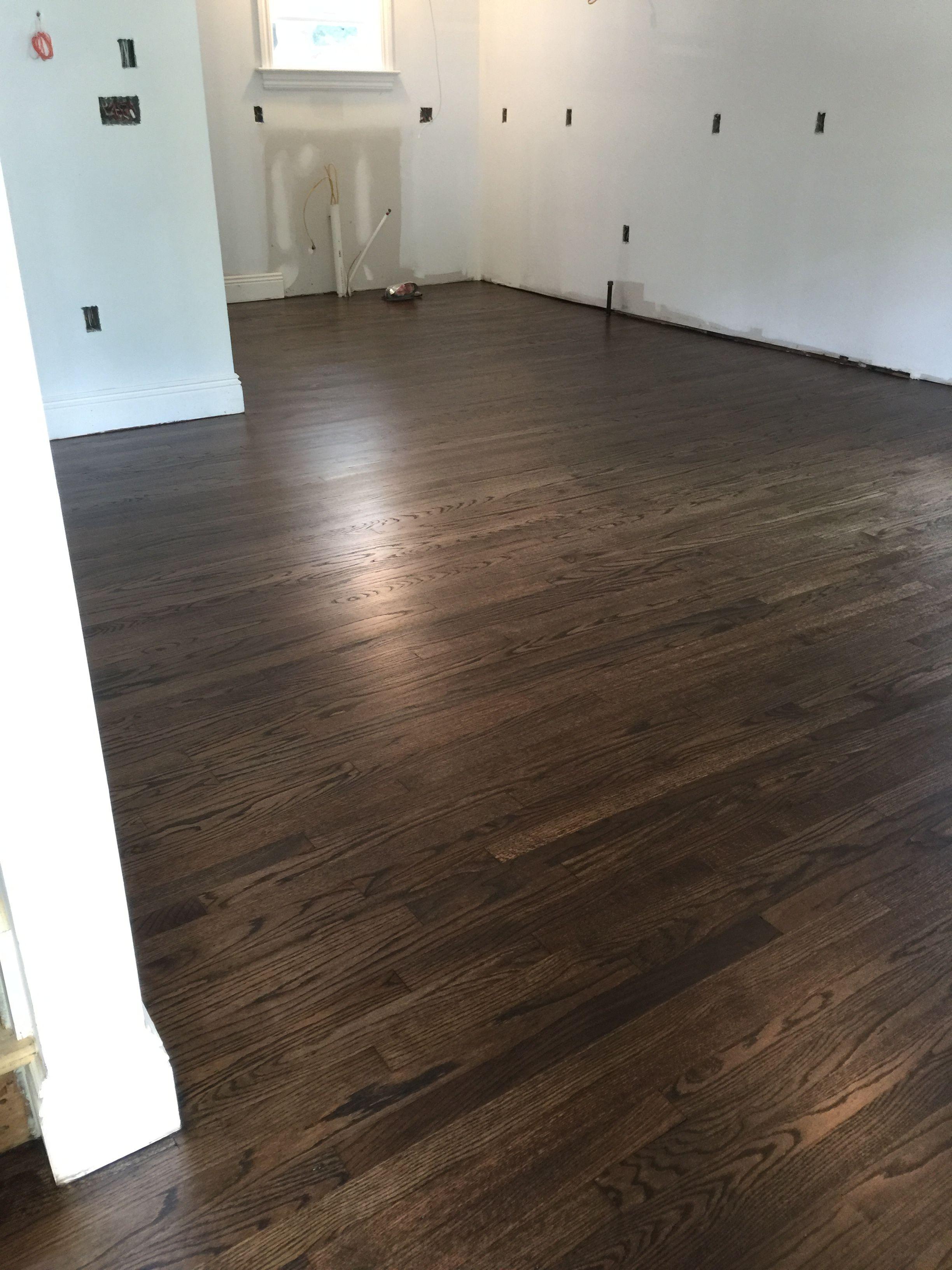 Jacobean stain on white oak … Hardwood floor stain
