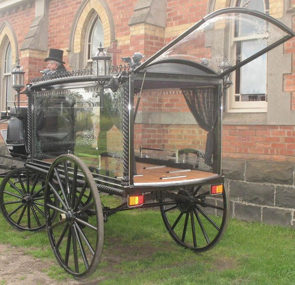 horse-drawn hearse for sale | Horse Drawn Hearse | Vietta