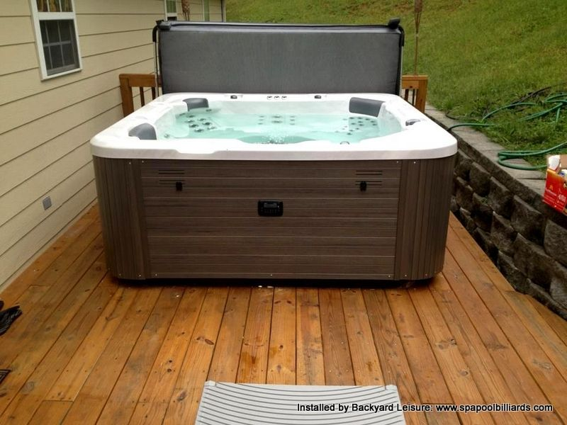 Hawkeye Spa On Deck Hot Tubs And Pools Installed By