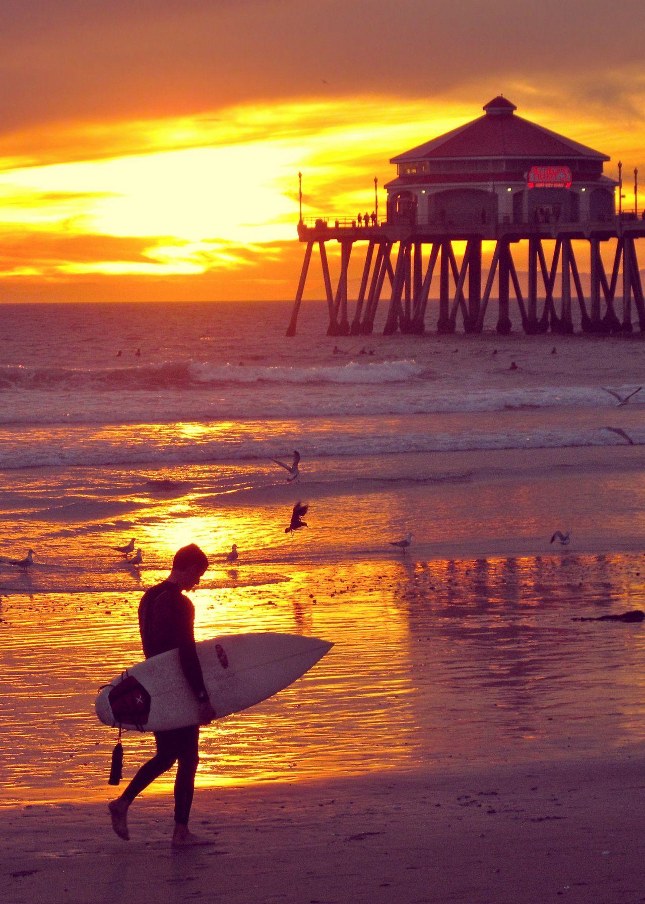 Surf In Huntington Beach Howtosurf