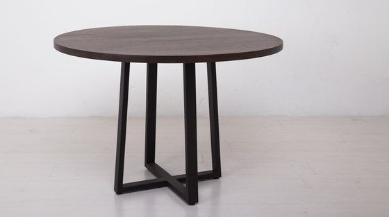 Essentials Round Dining Table by Uhuru Design | Cafeteria tables