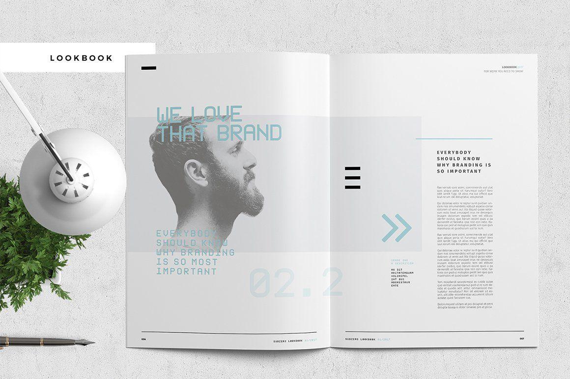 Subzero Portfolio Brand guidelines book, Brand